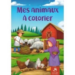 Mes animaux à colorier -...